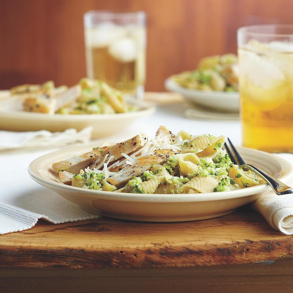 Chicken with Broccoli Pesto Pasta Diabetic Living Magazine