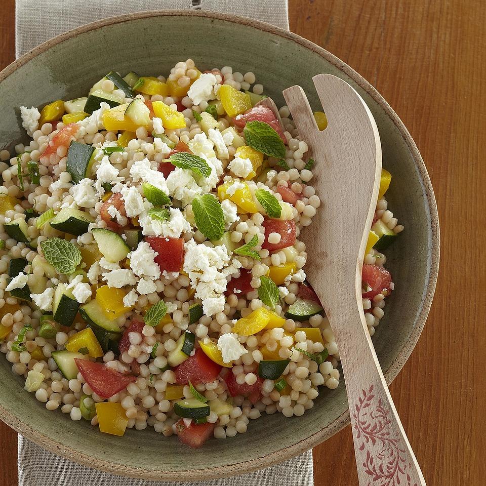 Vegetable Israeli Couscous Diabetic Living Magazine