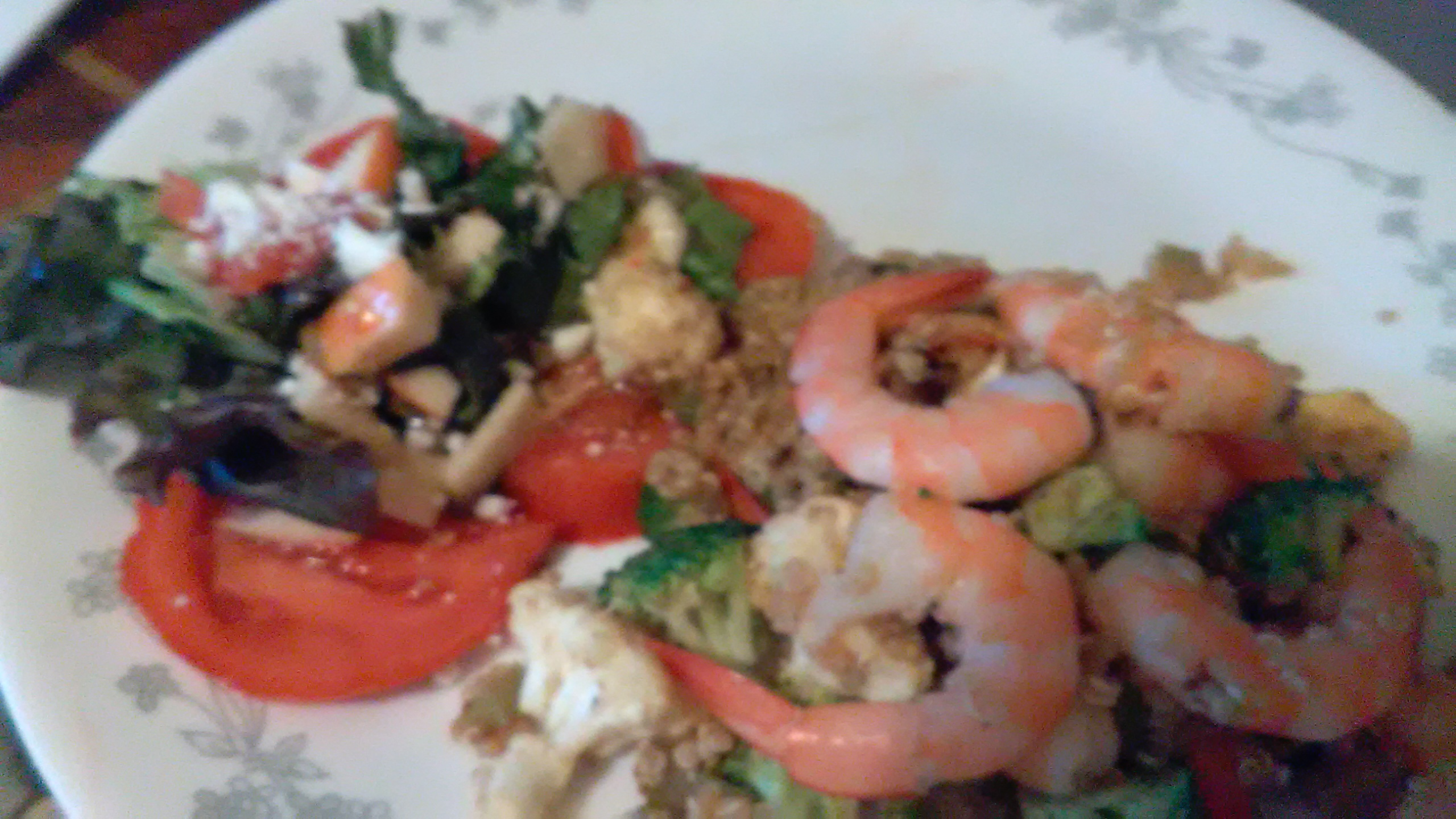 Shrimp Quinoa Jackie Sherriff Catto
