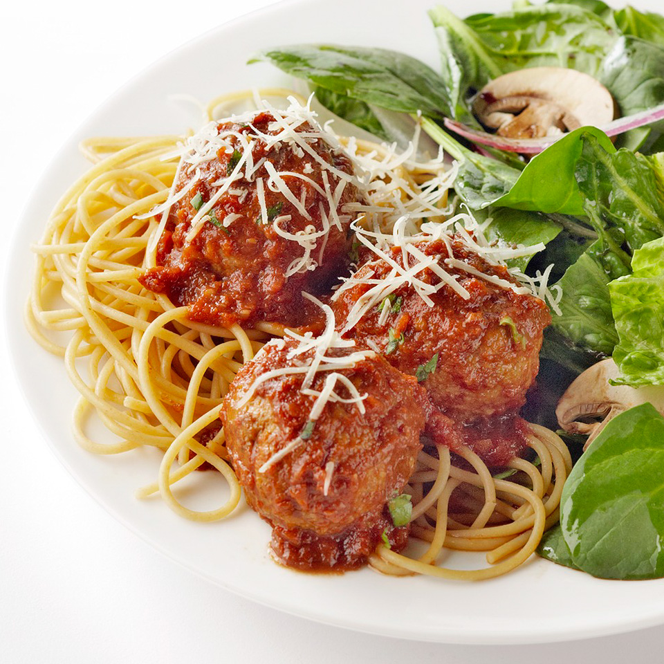 Meatballs with Sun-Dried Tomato Sauce Diabetic Living Magazine
