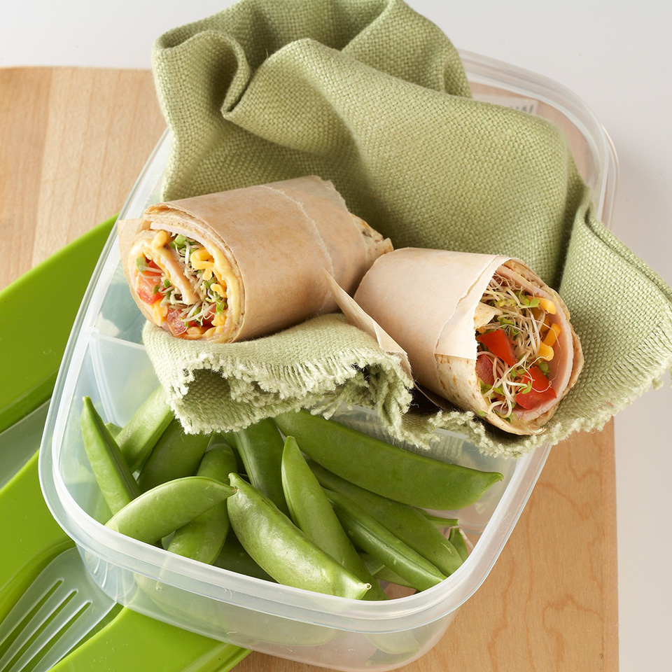 Ham & Cheese Sandwich Wrap Trusted Brands