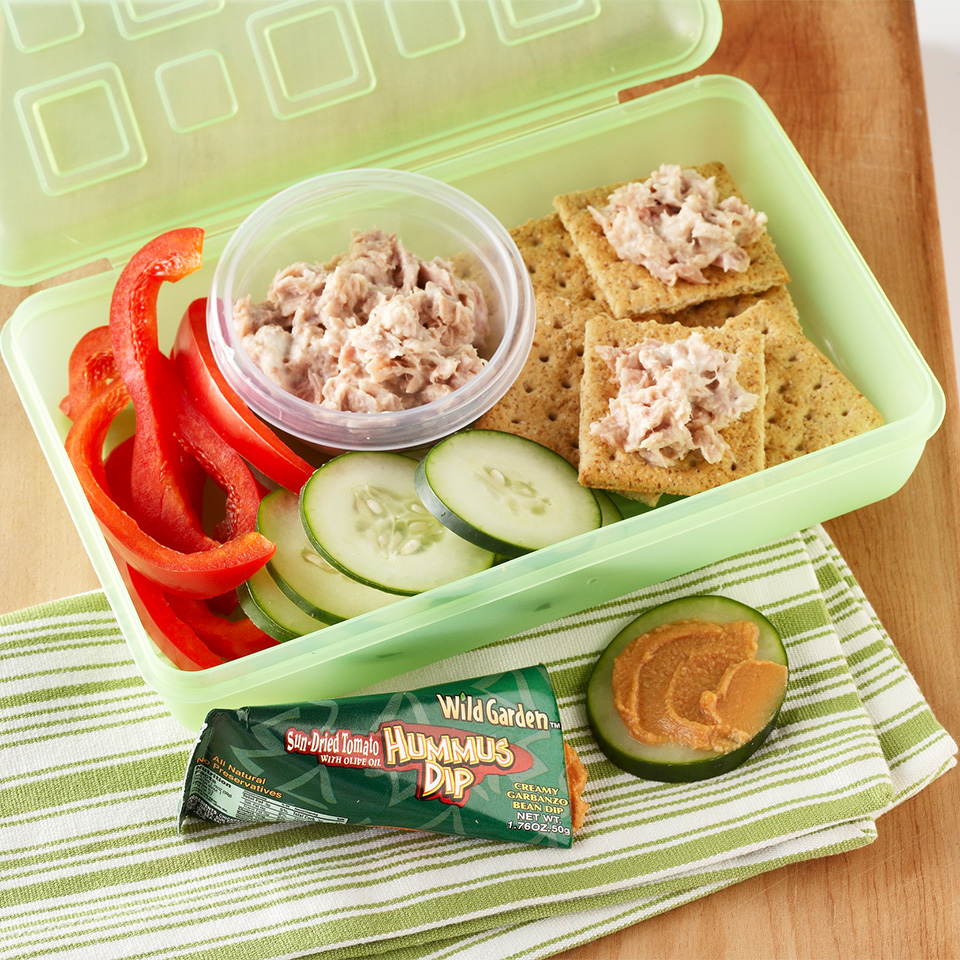 Tuna Salad Crackers Diabetic Living Magazine