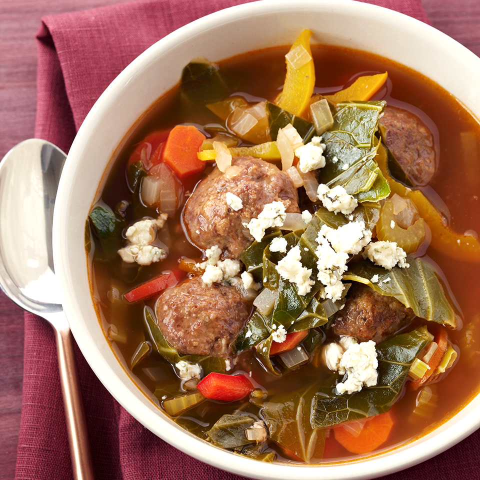 Barbecue Meatball Soup Trusted Brands