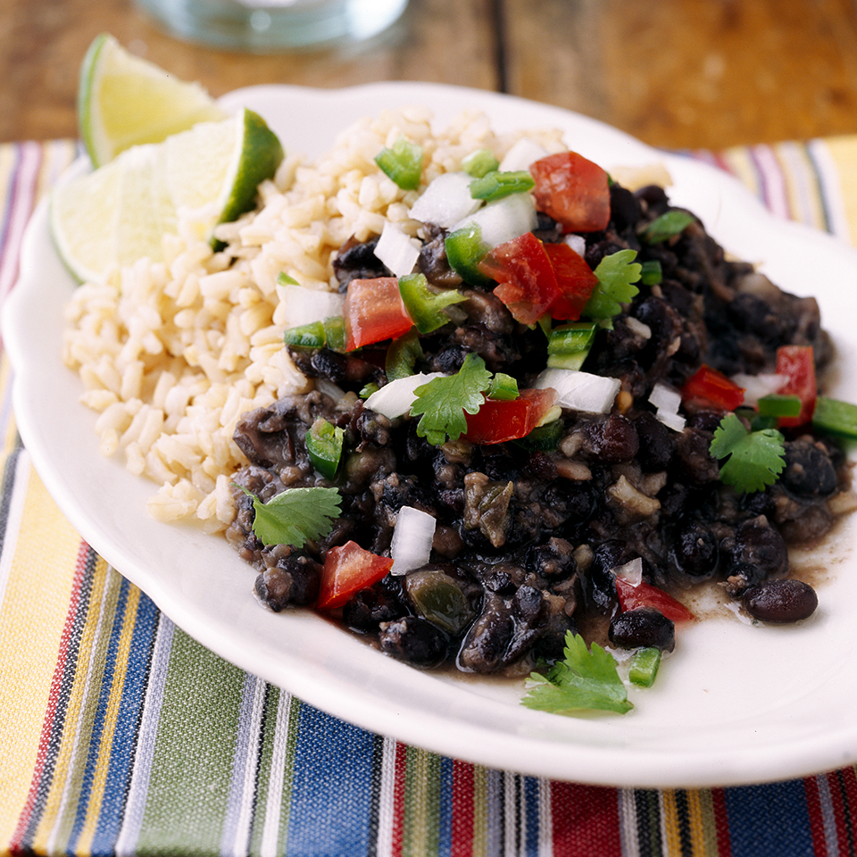 Cuban-Style Black Beans and Rice Diabetic Living Magazine