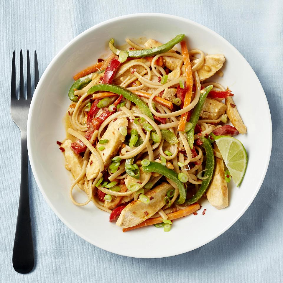 Spicy Thai Noodles Diabetic Living Magazine