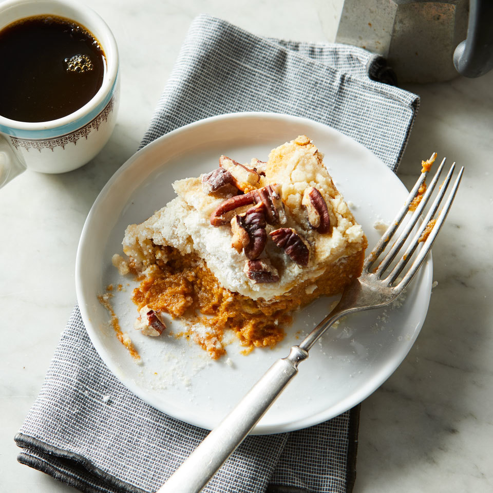 Pumpkin Dump Cake Hilary Meyer