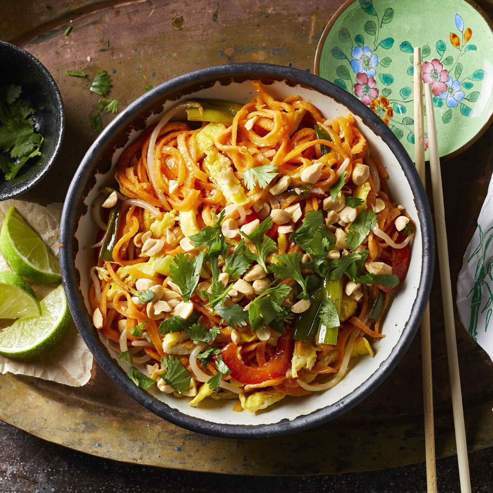 Sweet Potato Pad Thai Allrecipes Trusted Brands