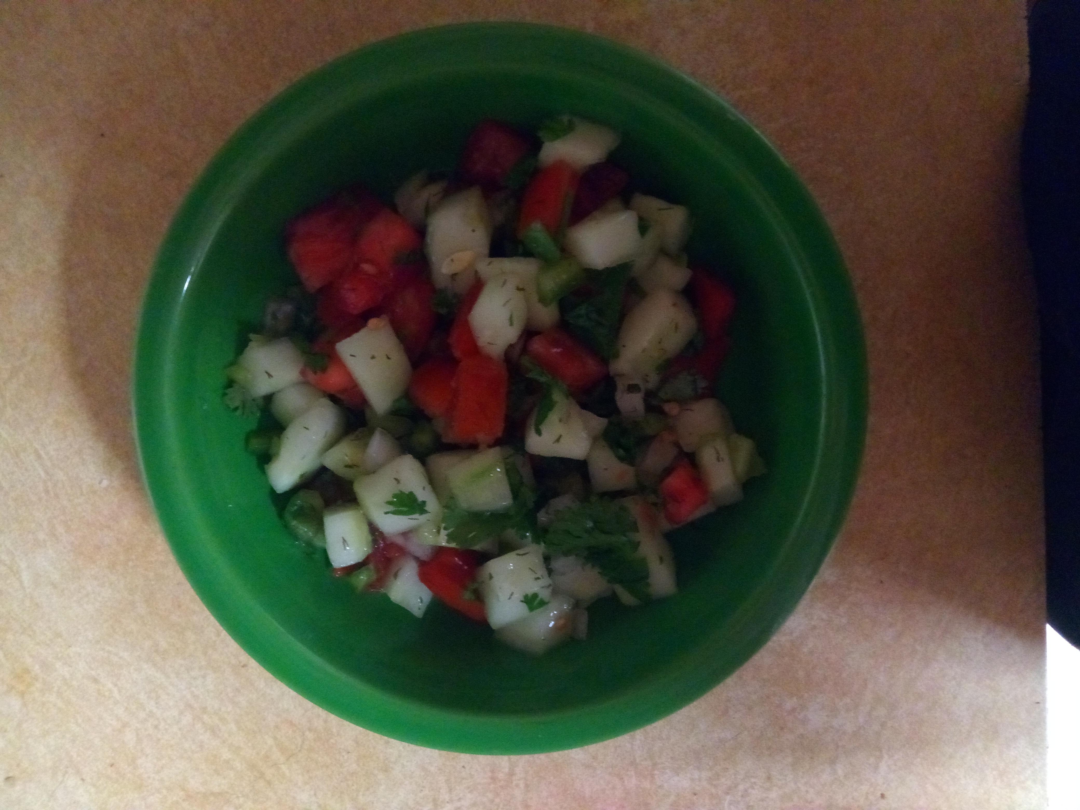 Cool Cucumber Salsa Sue Coonie
