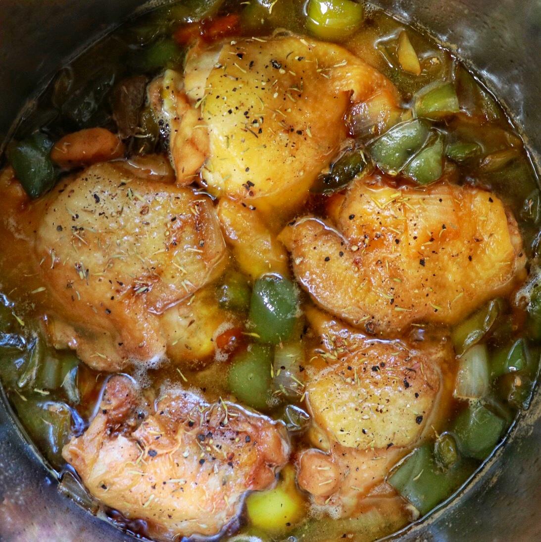Instant Pot® Pepper Chicken