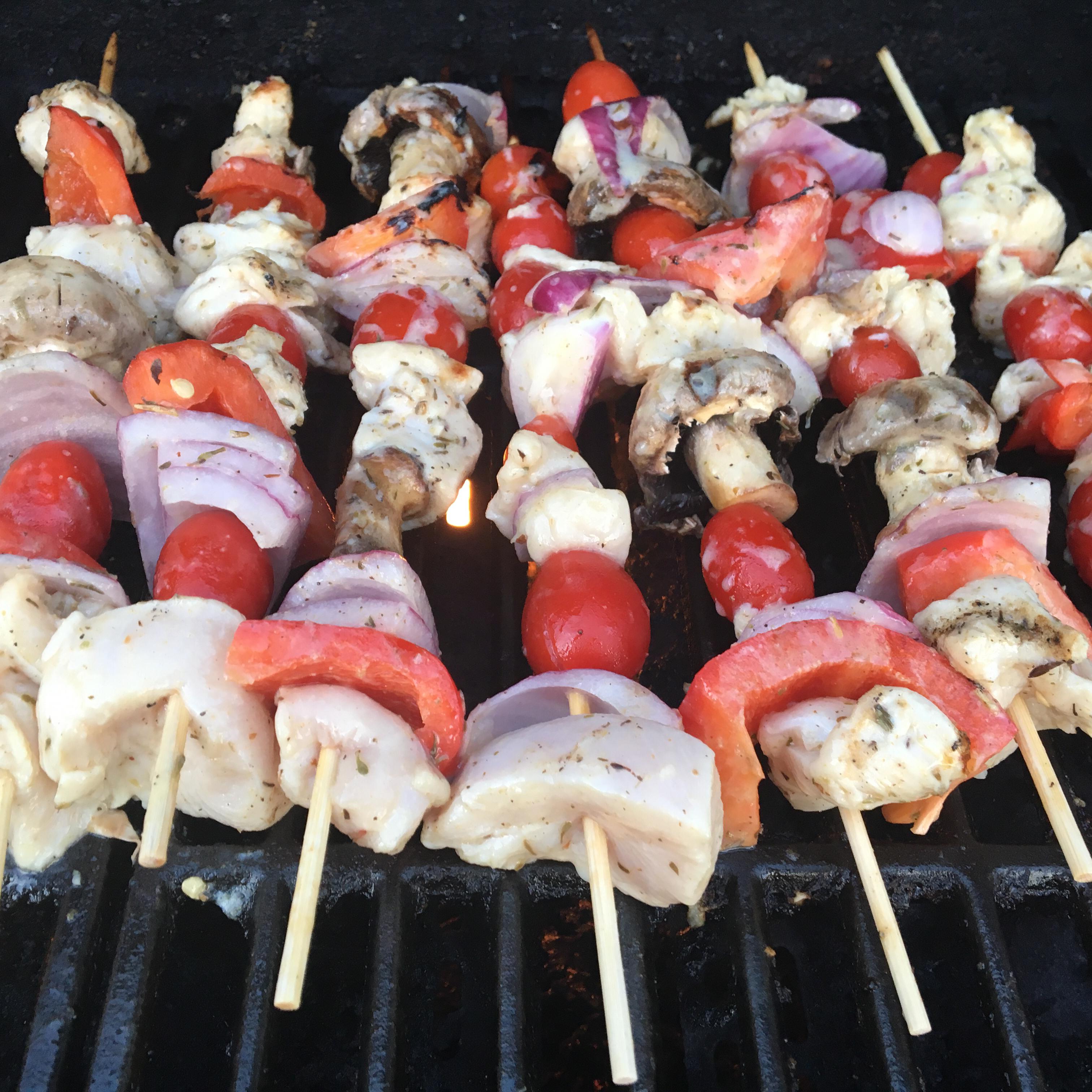Greek Island Chicken Shish Kebabs trshnllr