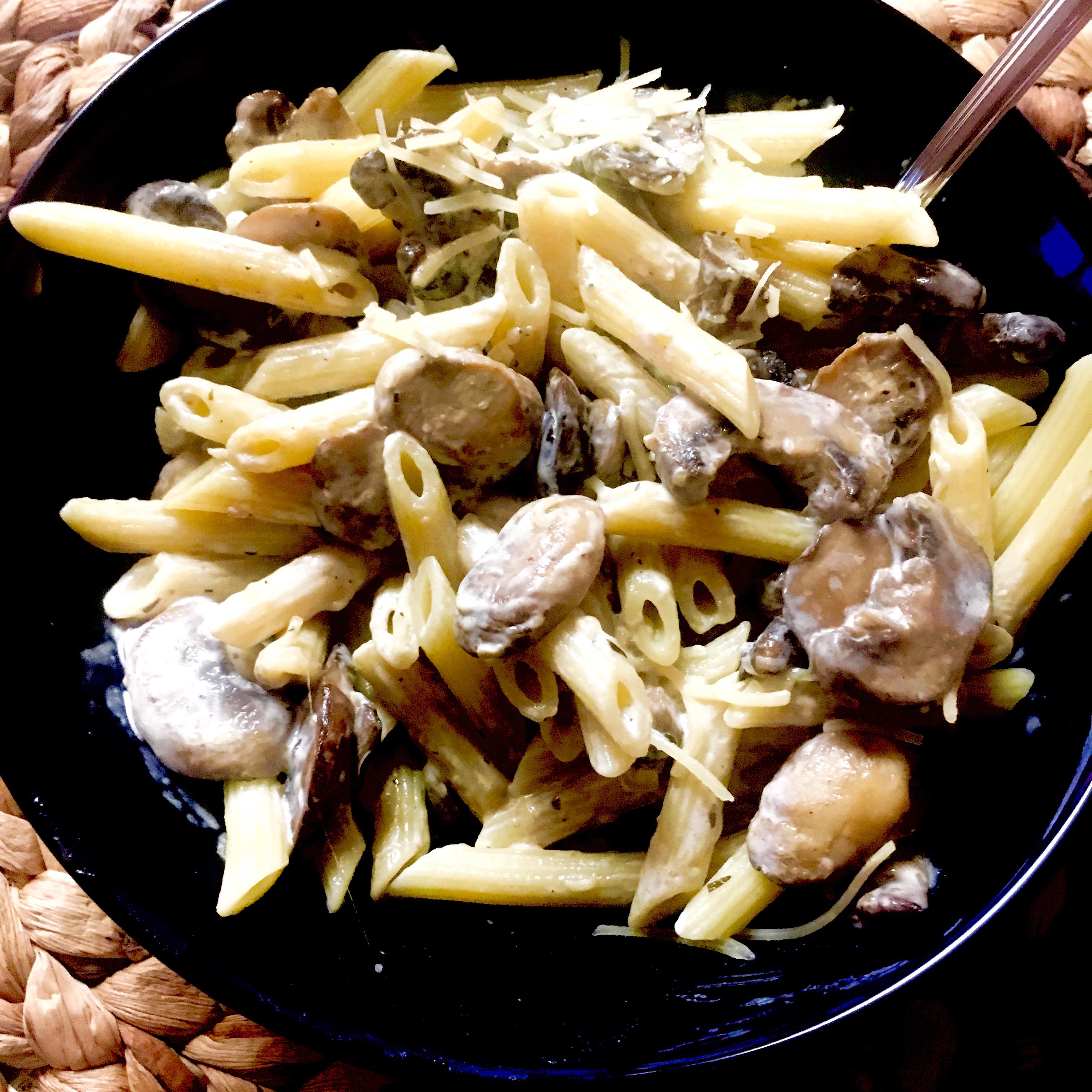 Chef John's Creamy Mushroom Pasta Katlyn Hurt