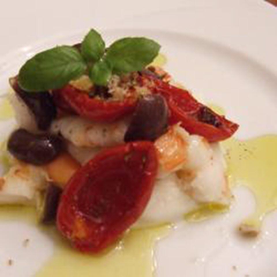 Caprese Shrimp Salad