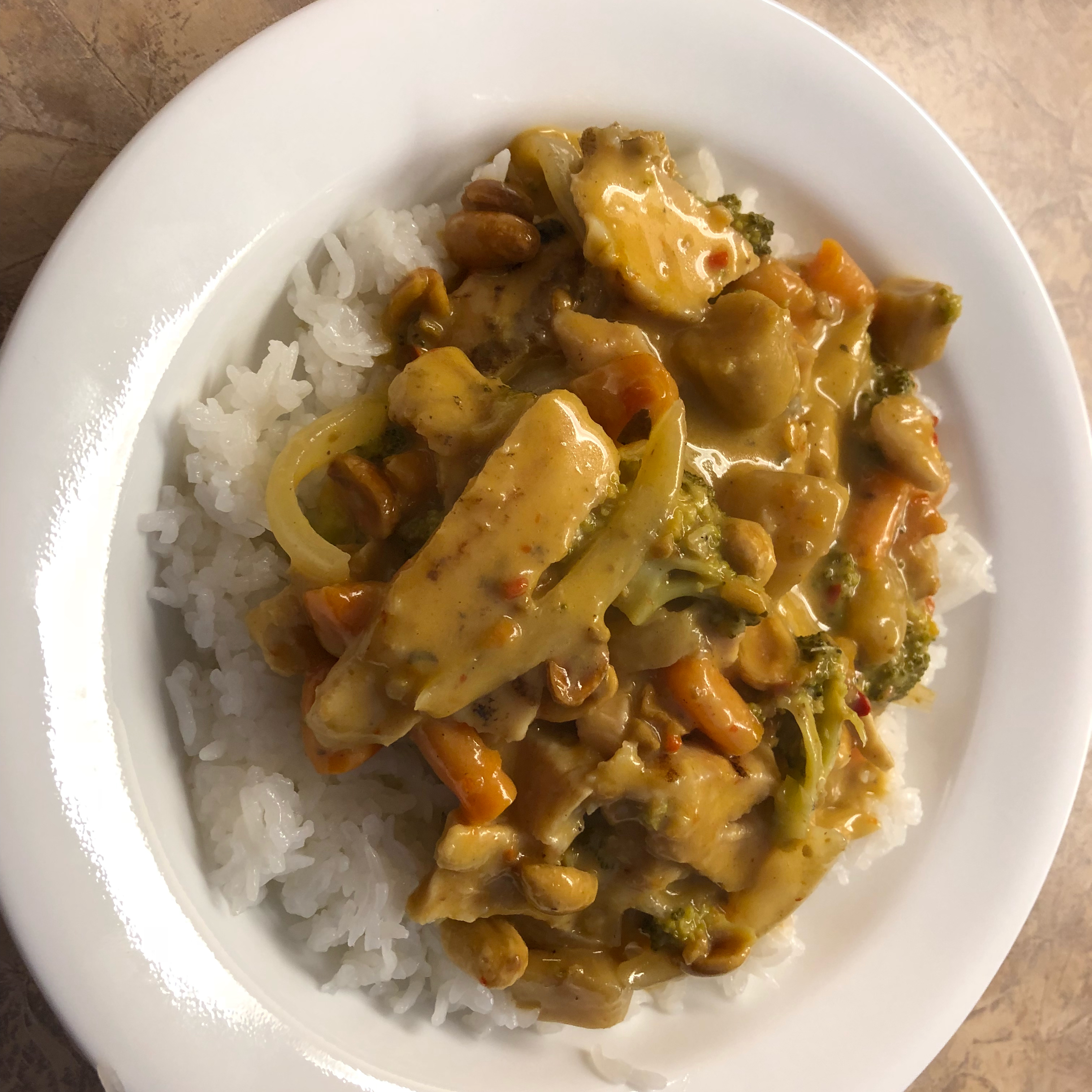 Chicken Massaman Curry pct2