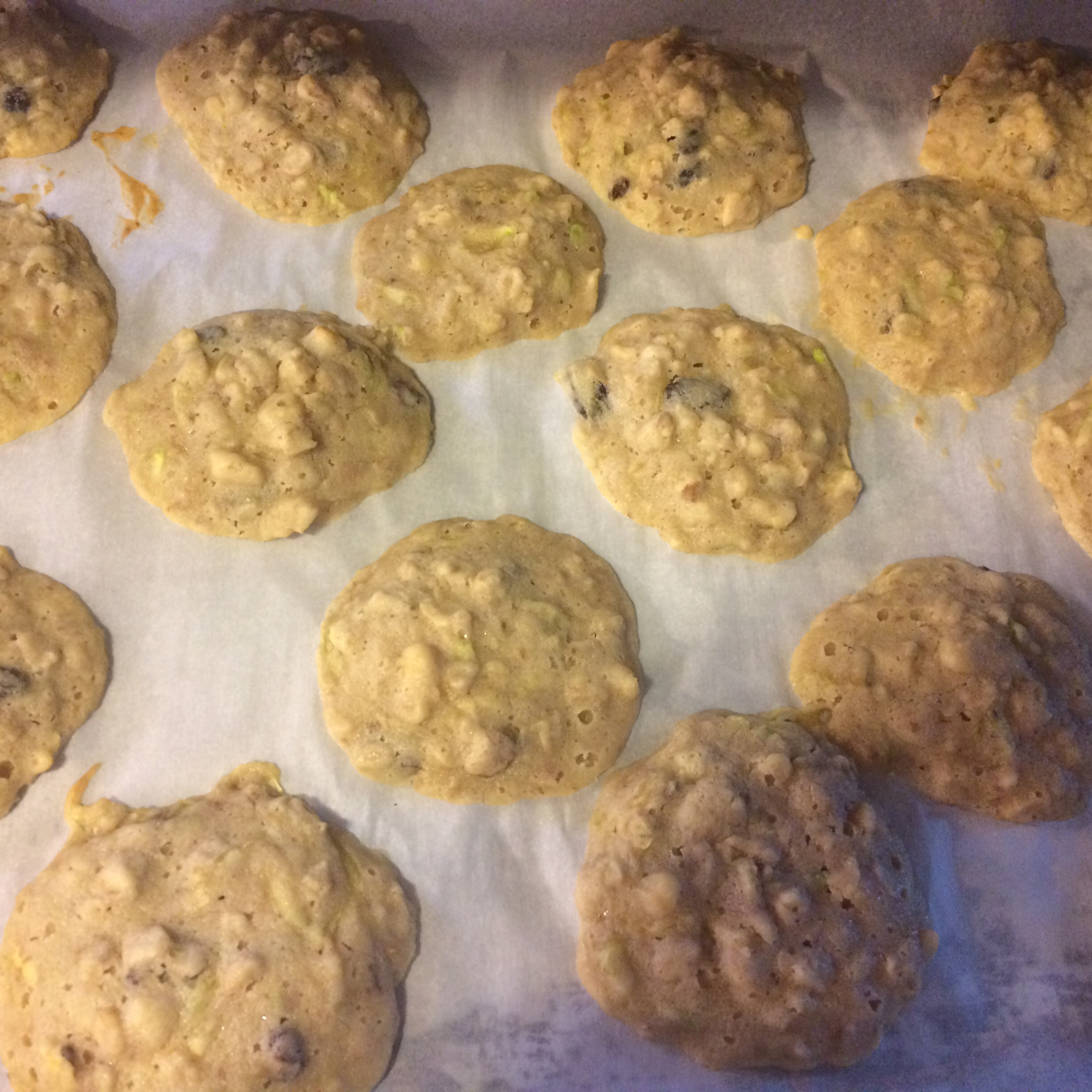 Zucchini Oatmeal Cookies Angela Raines