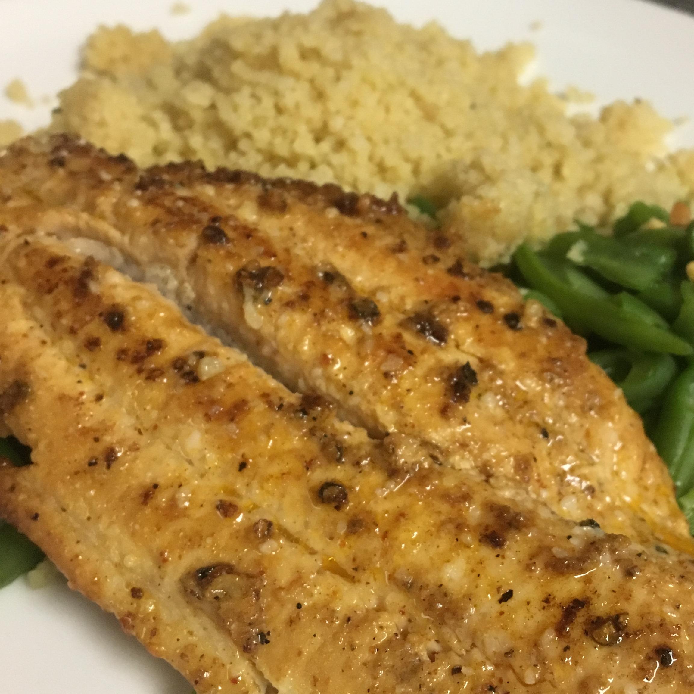 Seared Catfish Creole