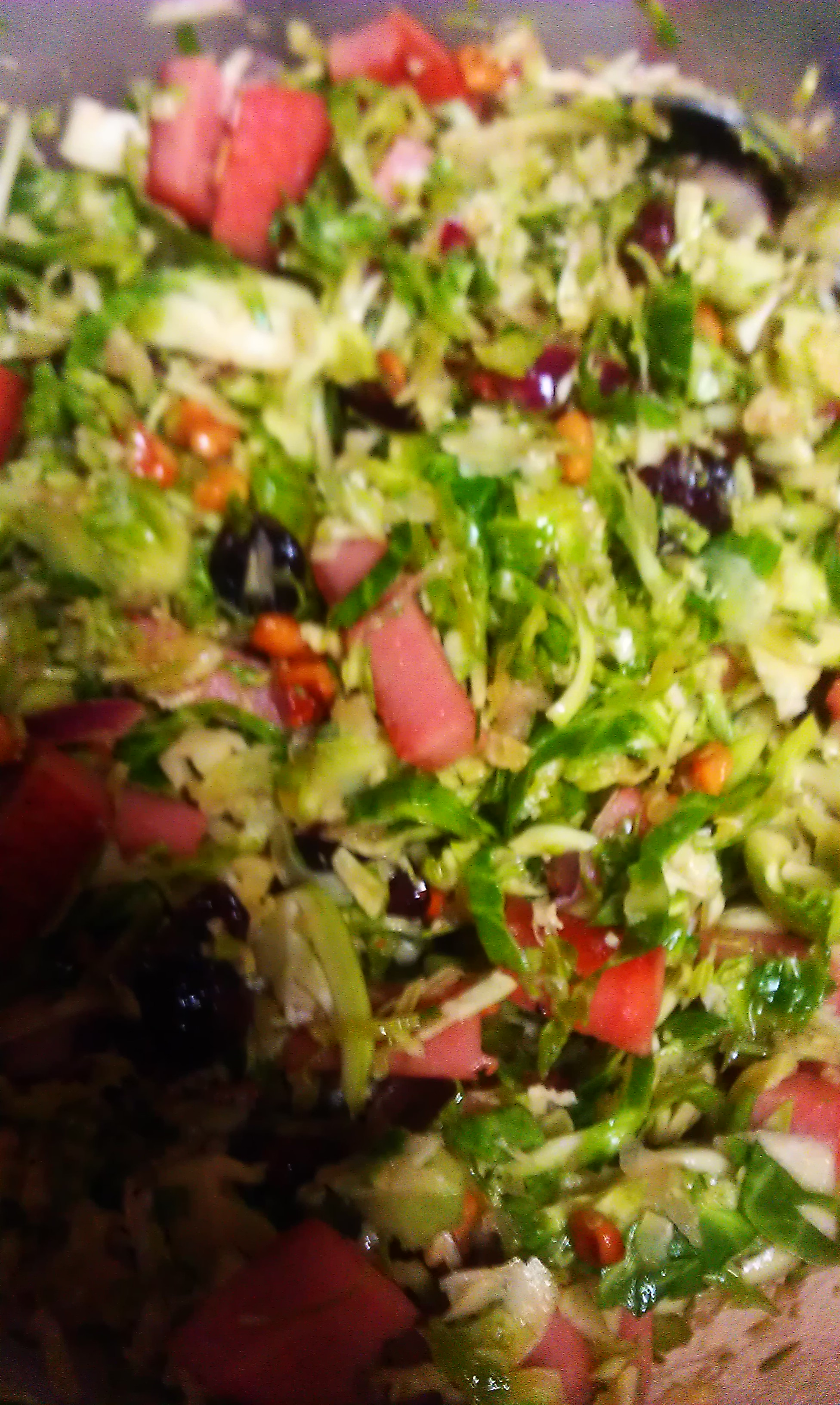 Hillshire Farm® Smoked Sausage and Brussels Sprout Salad dadsgirl