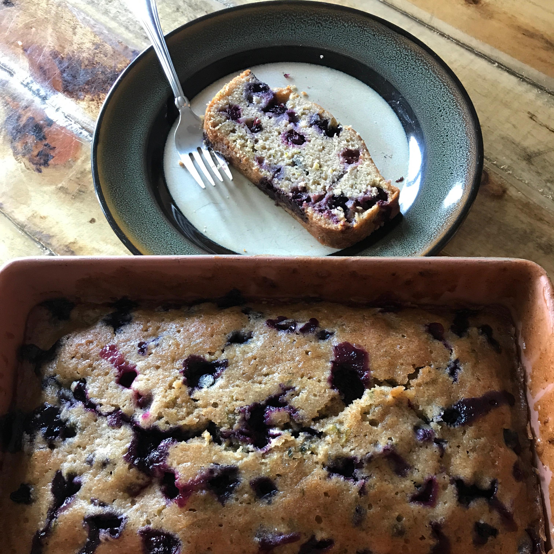 Blueberry Zucchini Bread Jchchuck