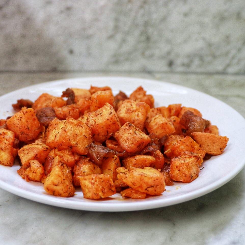 Air Fryer Sweet Potato Hash fabeveryday