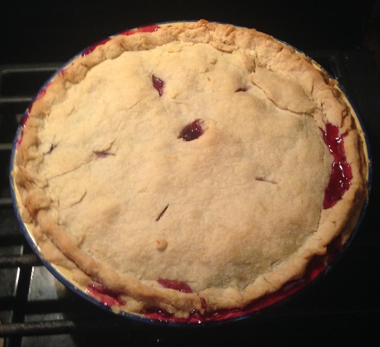 Little Ann's Peach and Blueberry Pie maisiB