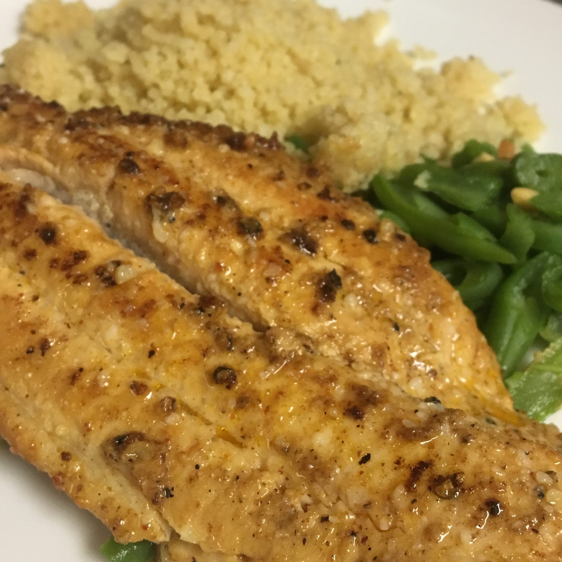 Seared Catfish Creole cakewise