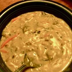 Creamy Chicken and Wild Rice Soup Chazaroni