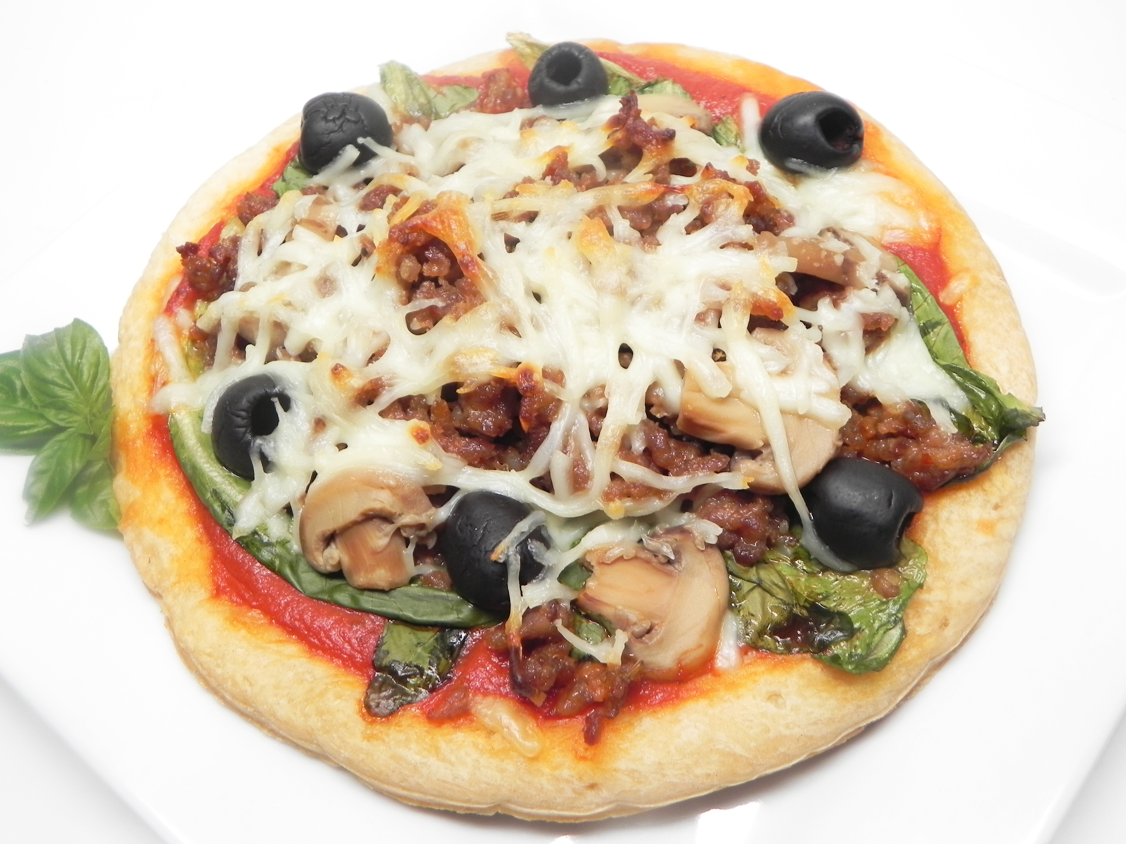 Italian Escarole Pizza