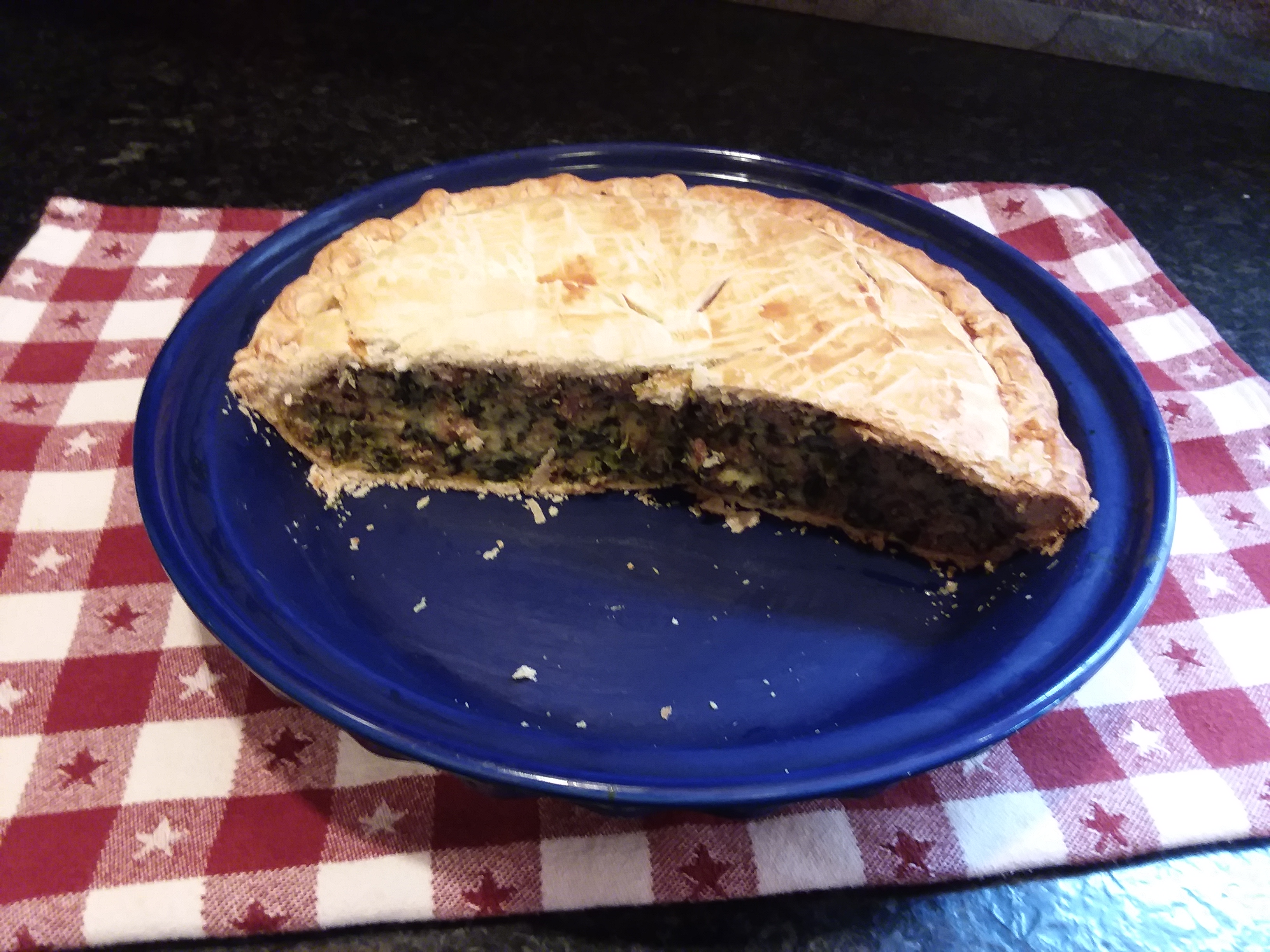 Italian Spinach Sausage Pie Candace