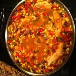 Cilantro Chicken and Rice little2klizzard