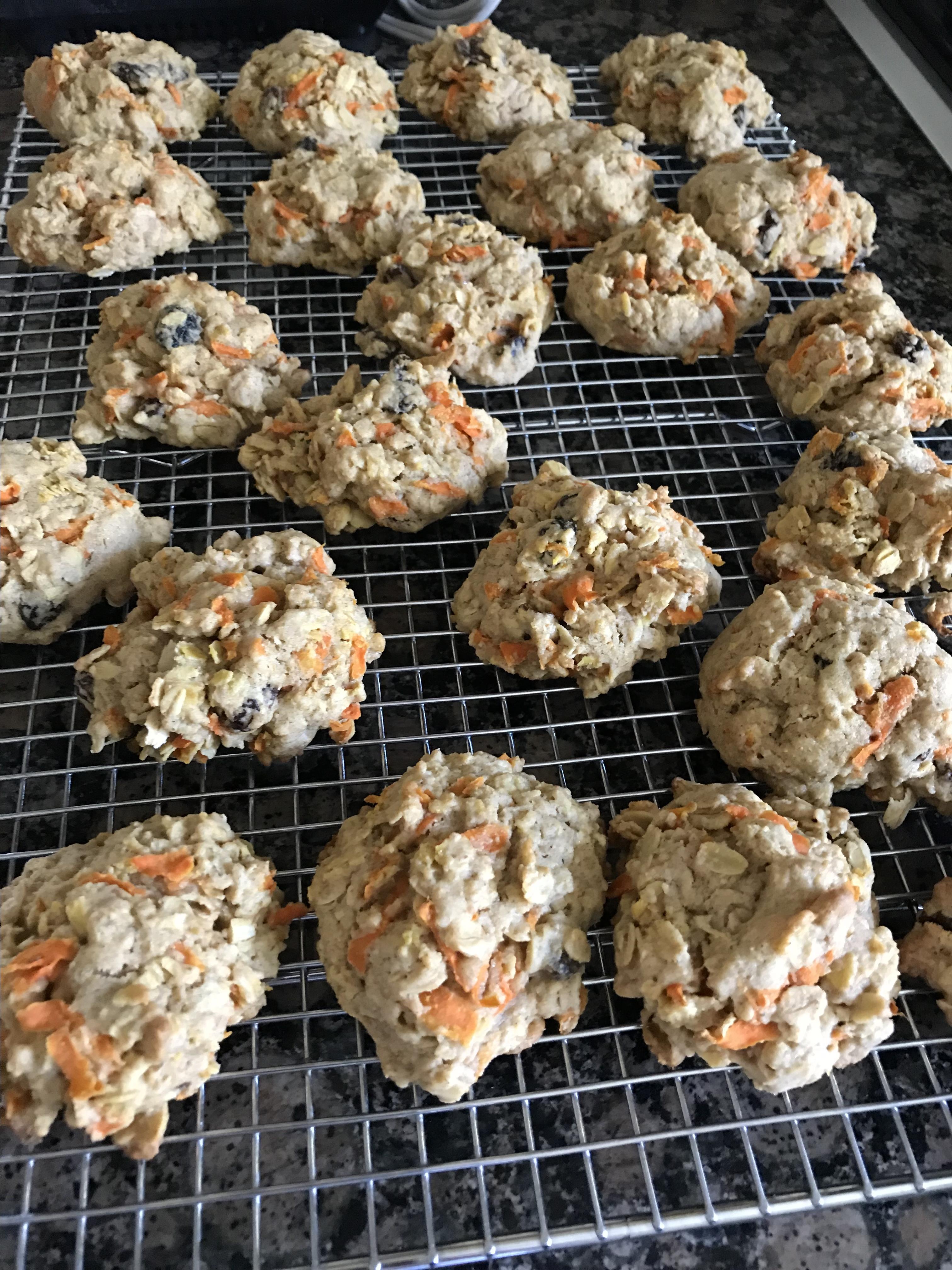 Oatmeal Carrot Cookies cindy