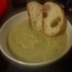 Cream of Asparagus Soup I B Allison