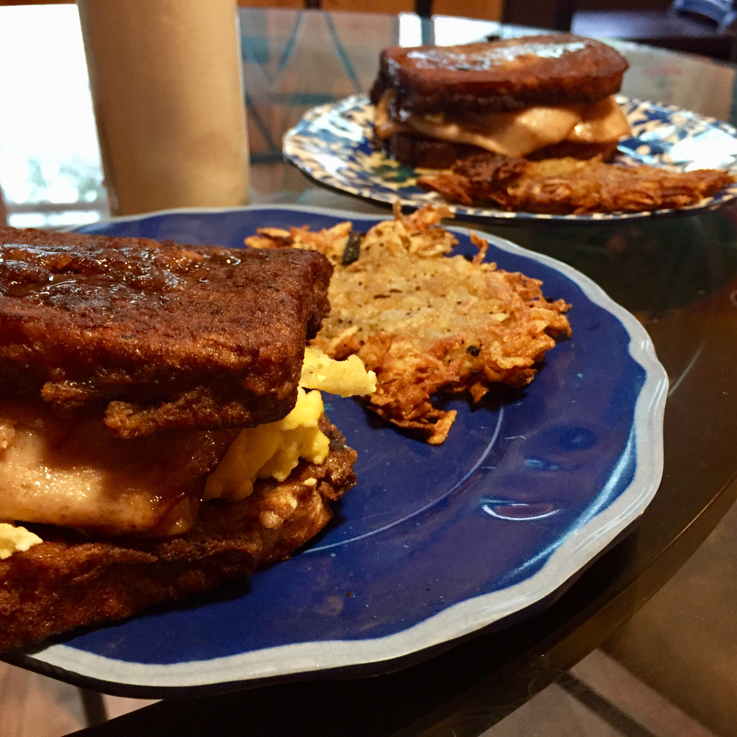 Maple French Toast Sandwich Brianna Danielle Curry