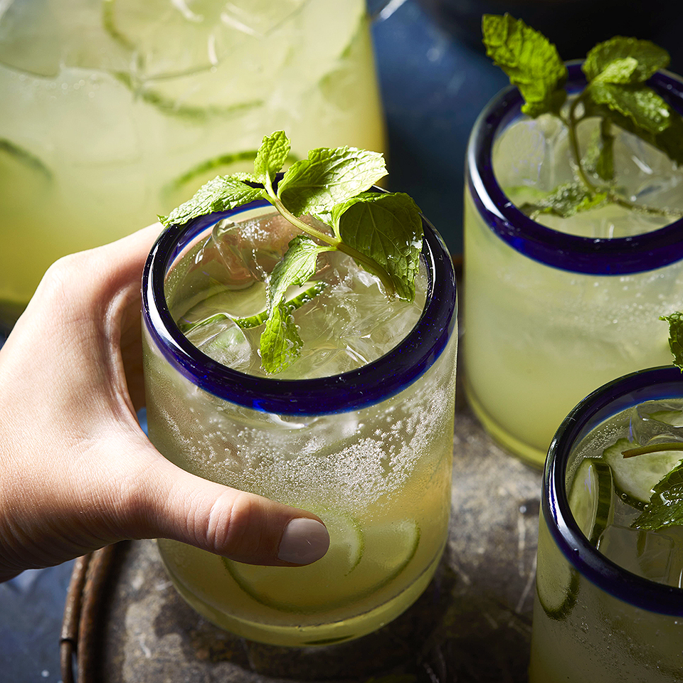 Cucumber-Lime Mexican Mojitos Diabetic Living Magazine
