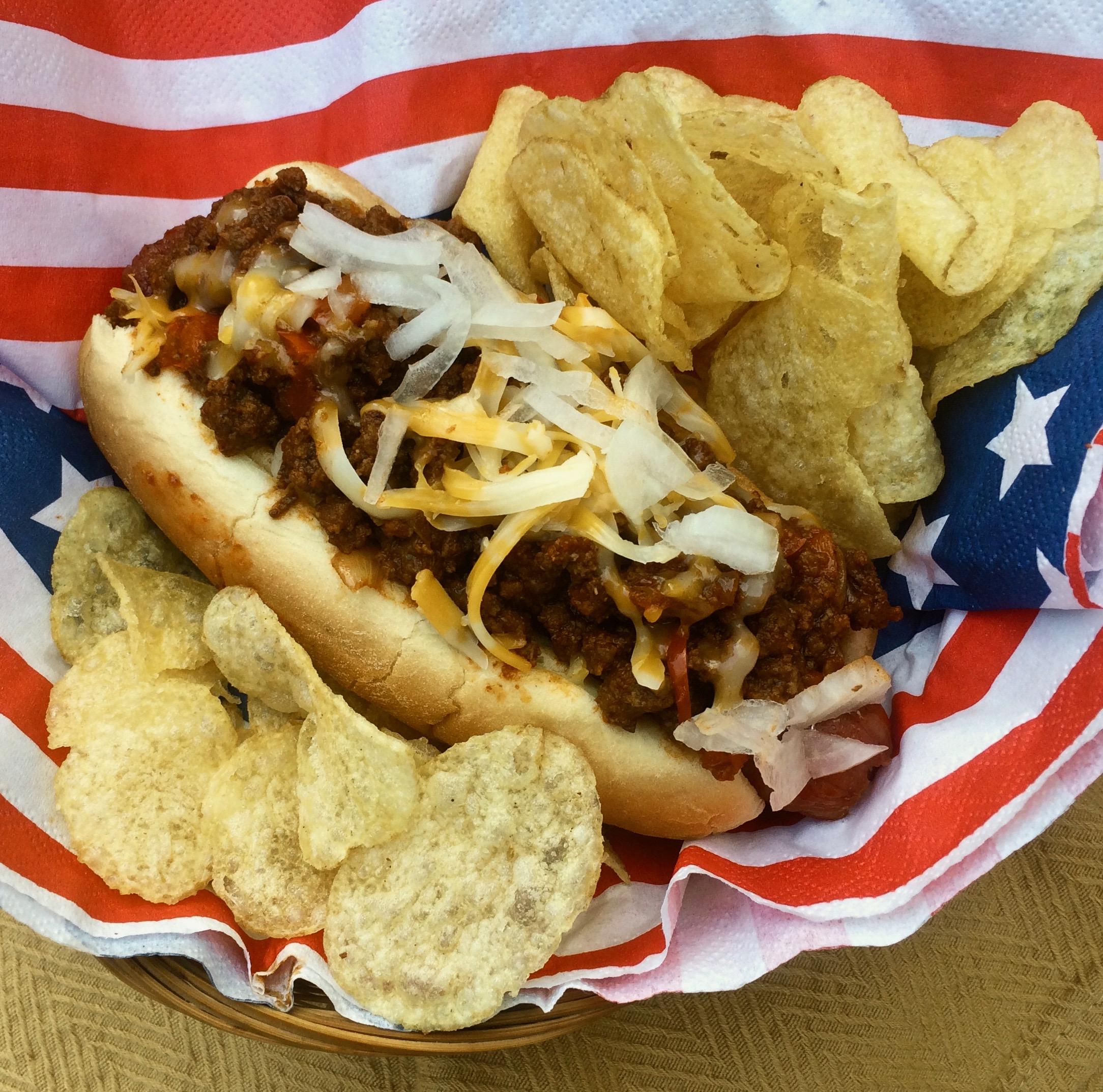 Texas Chili Dog Bibi