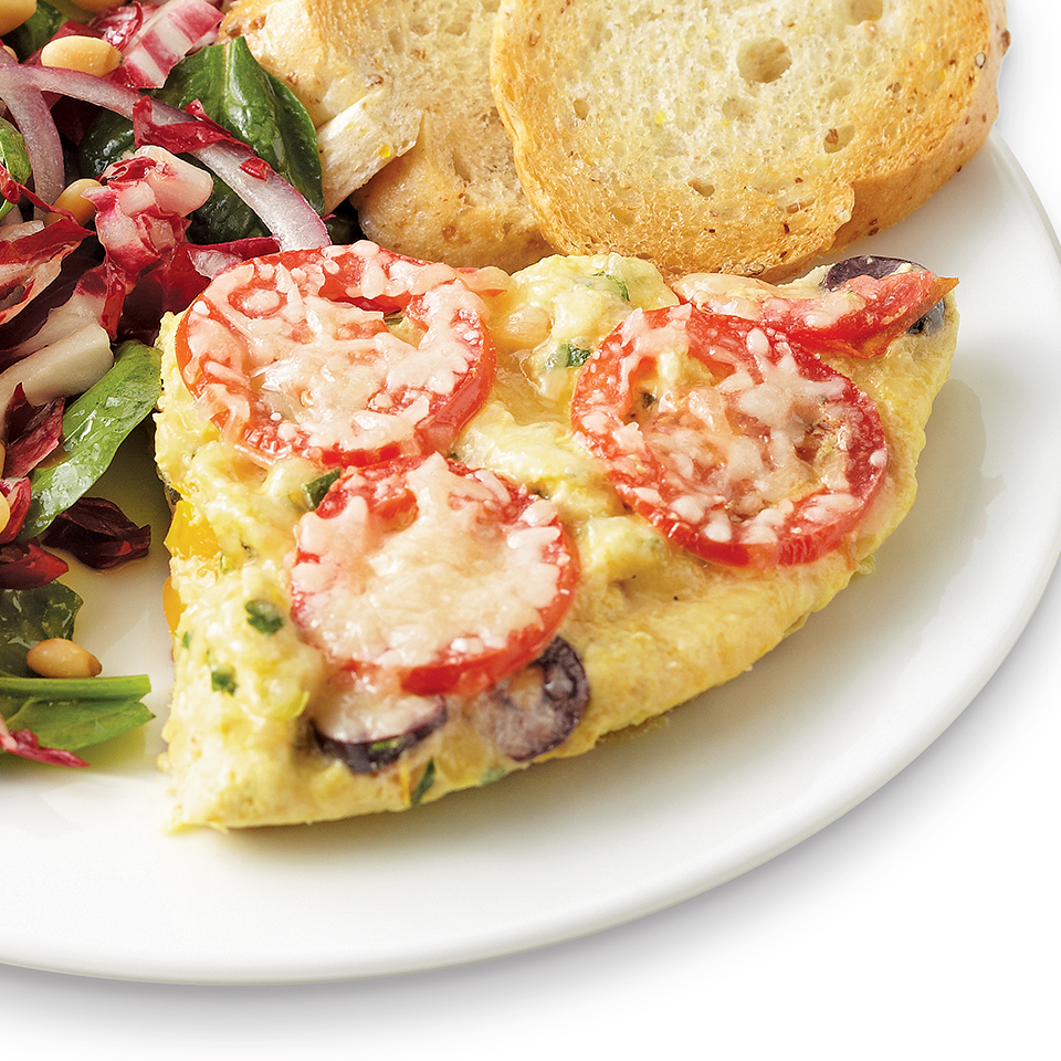 Tomato & Olive Dinner Frittata Trusted Brands
