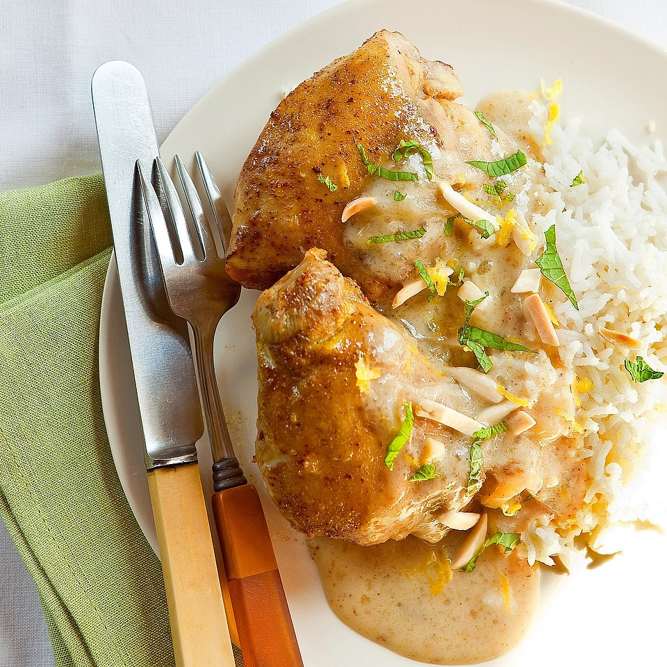 Indian-Spiced Chicken Thighs Diabetic Living Magazine