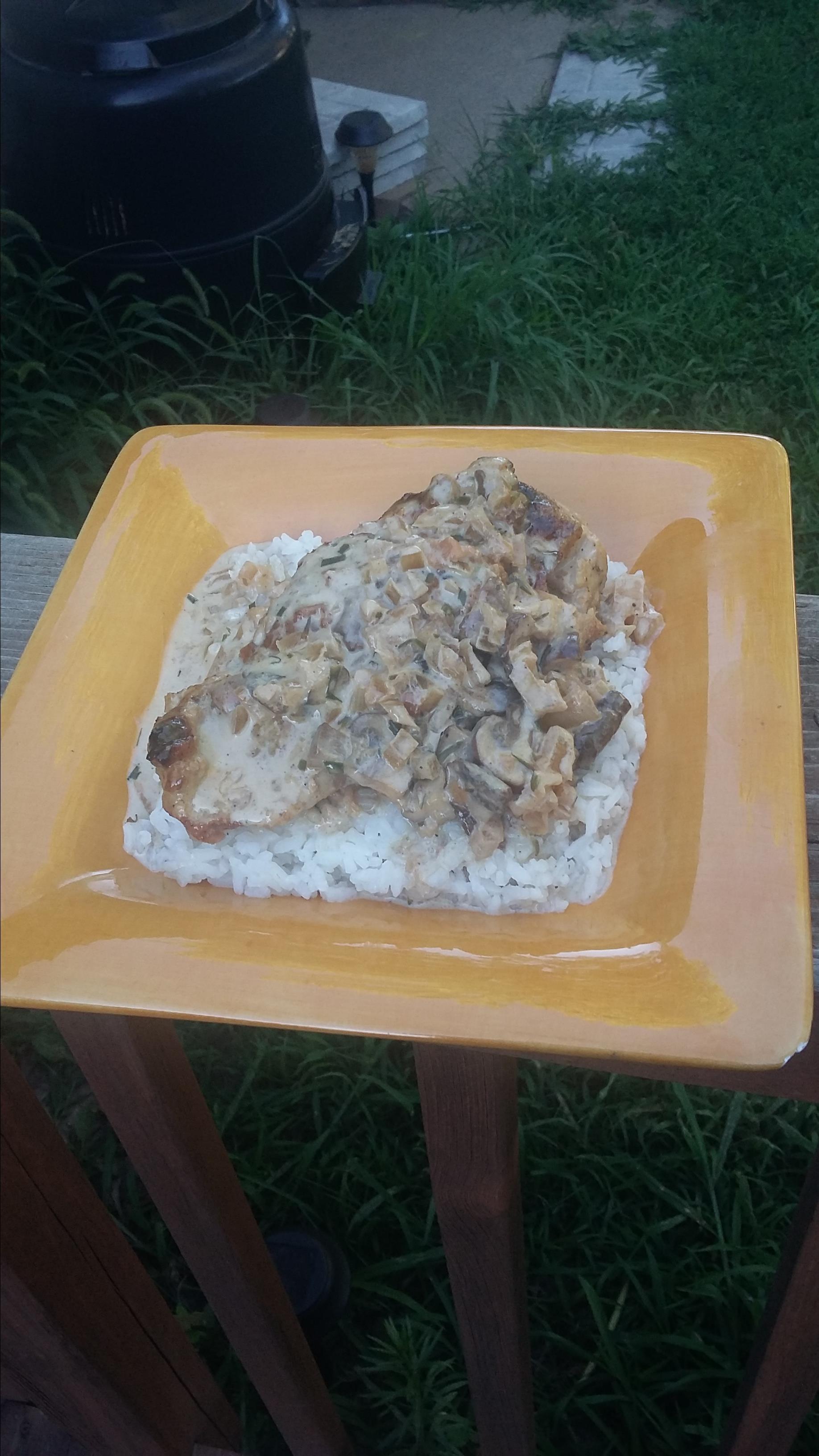 Dijon-Tarragon Cream Chicken resy
