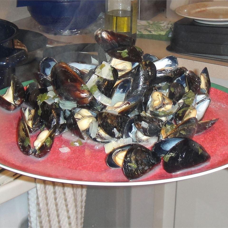 Mike's Drunken Mussels