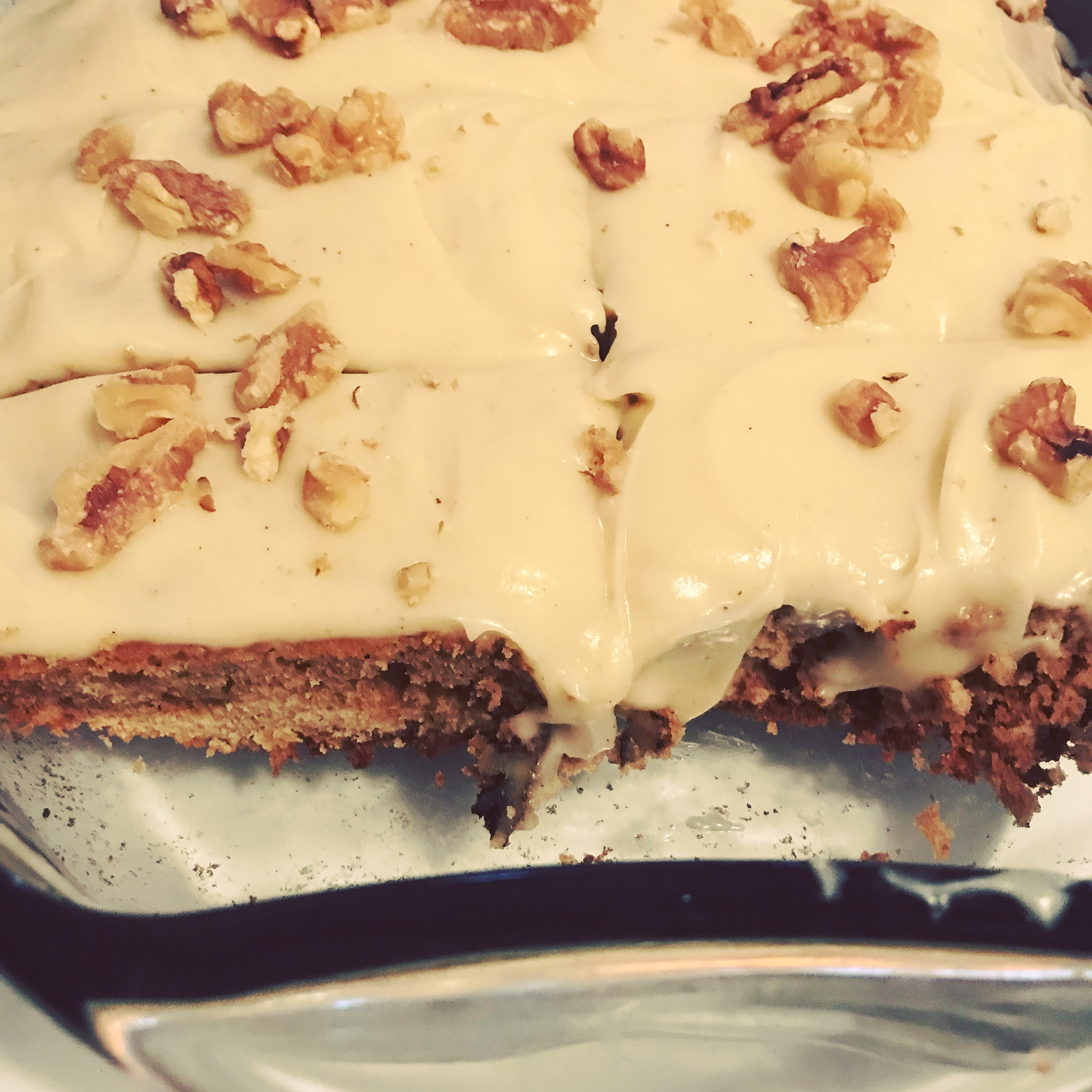 Zucchini Bars with Spice Frosting TWEE