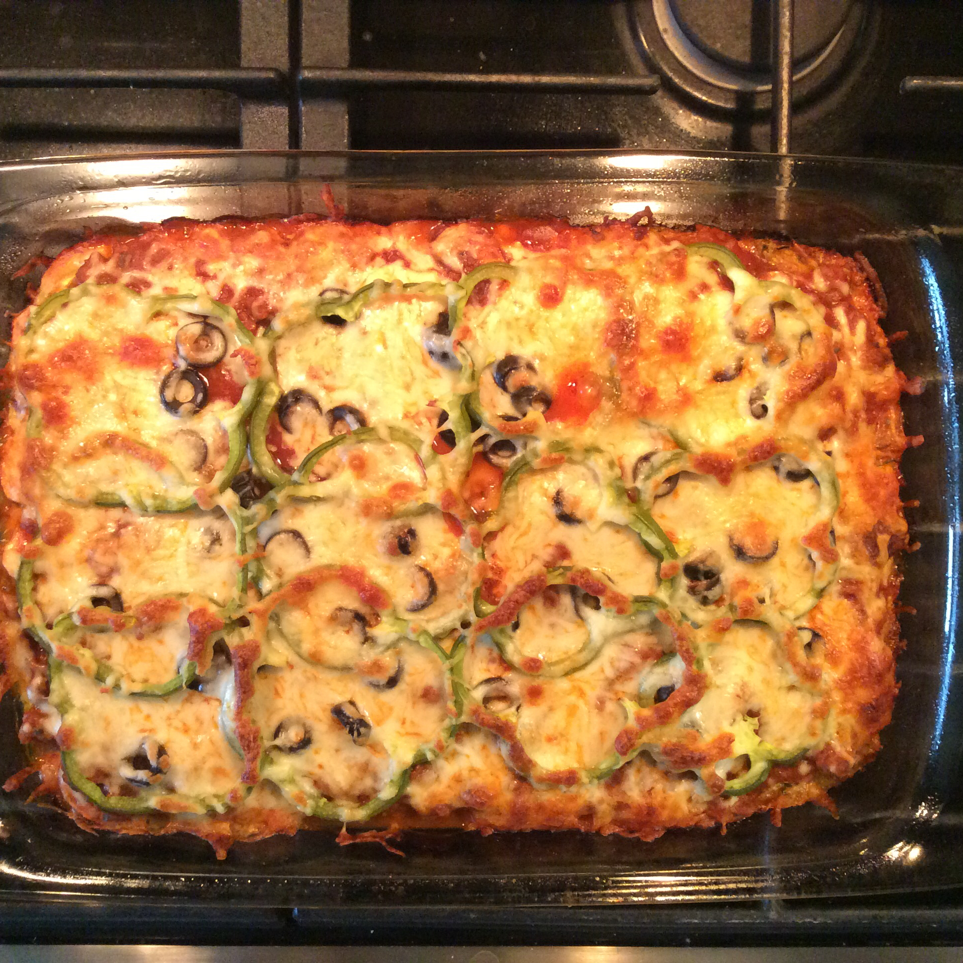Zucchini Pizza Bake Su-Z