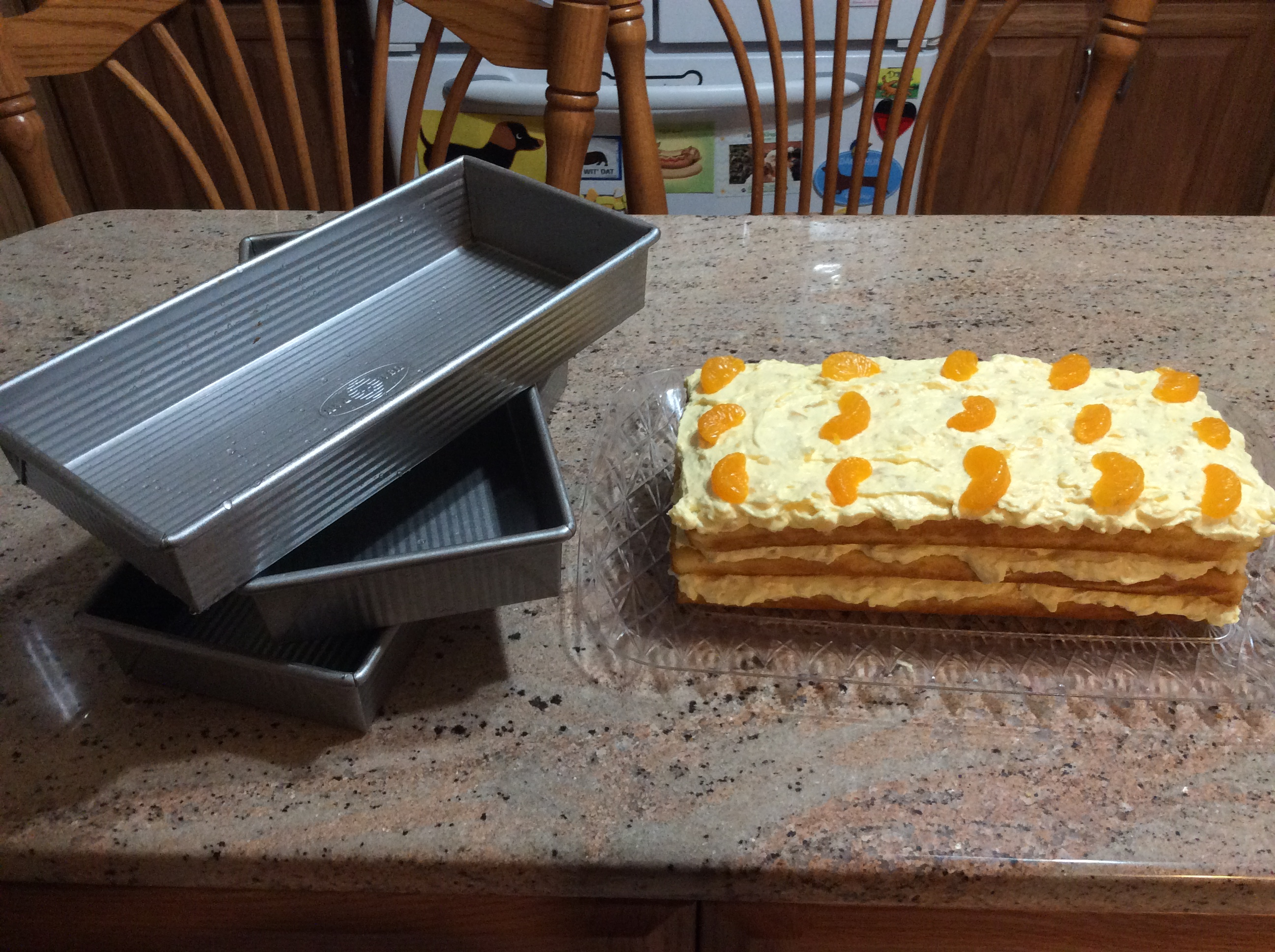 Mandarin Orange Cake I
