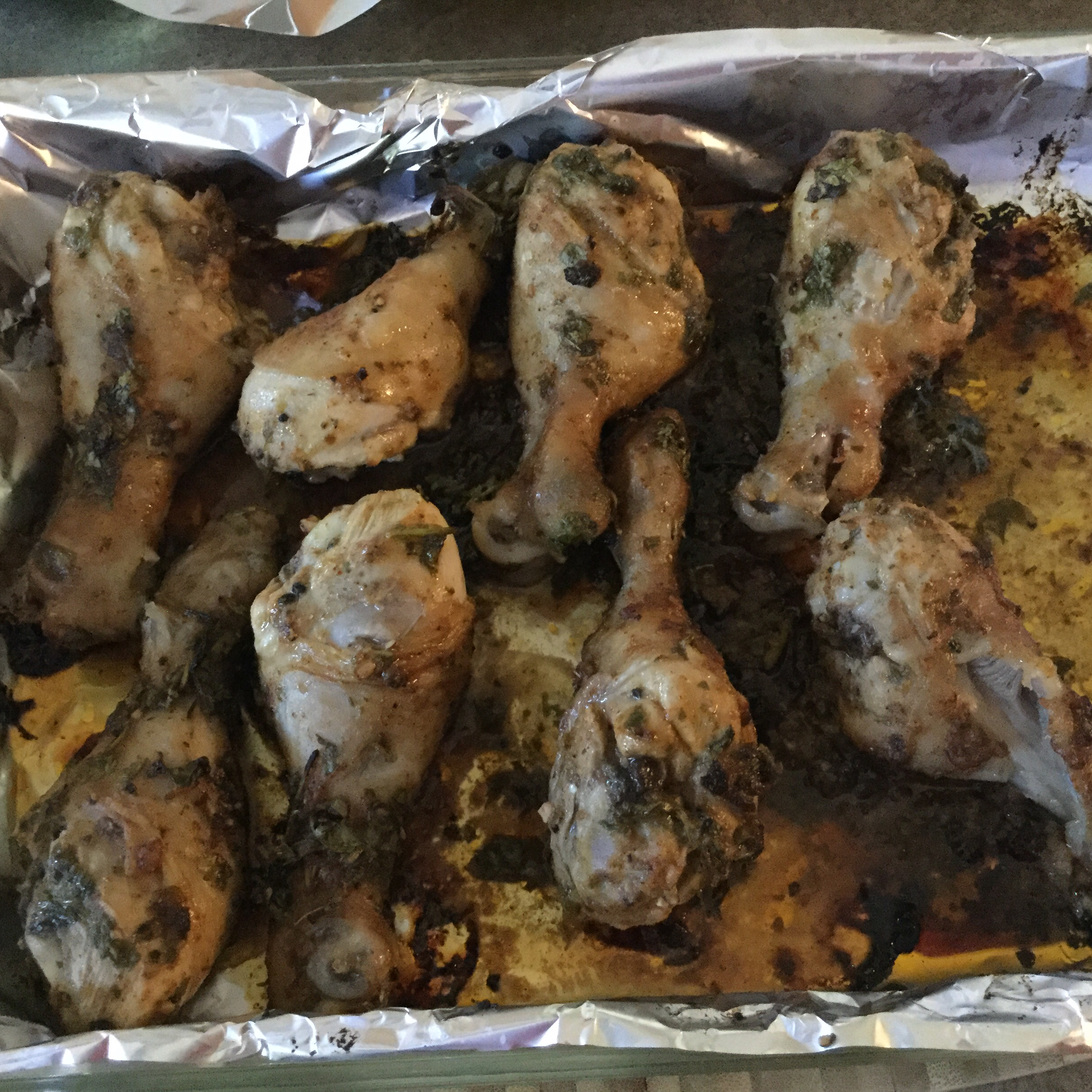 Garlic Lime Roasted Chicken Drumsticks Tipster