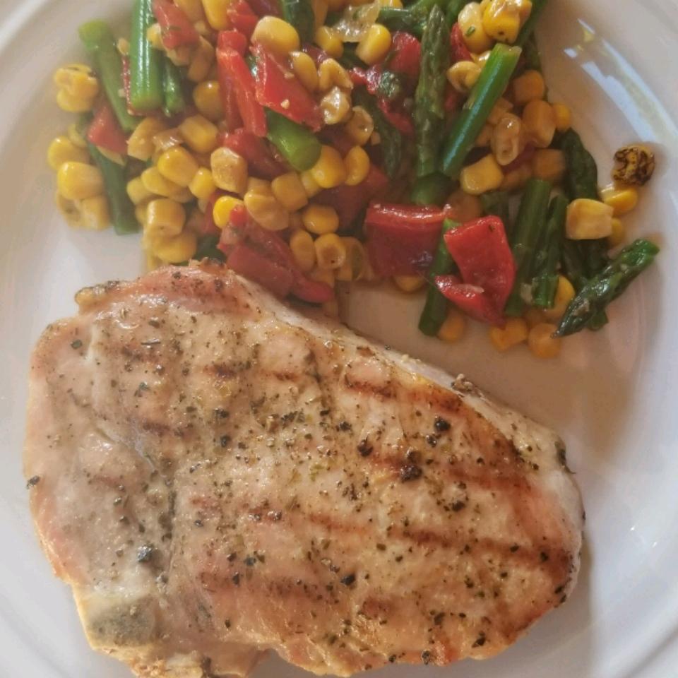 Summer Corn Salad with Asparagus John Camano