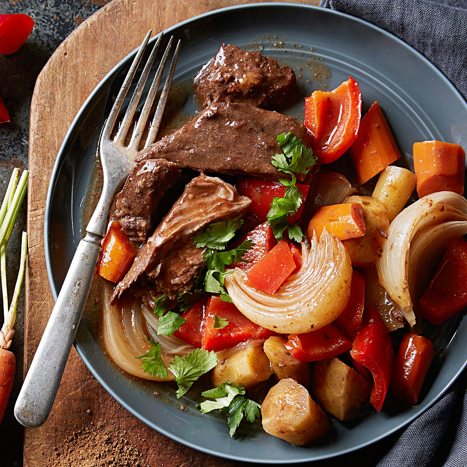 Moroccan-Spiced Pot Roast and Veggies Diabetic Living Magazine