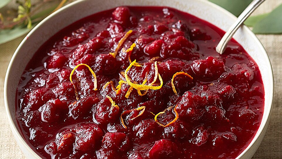 Spiced Maple Cranberry Sauce Recipe Eatingwell