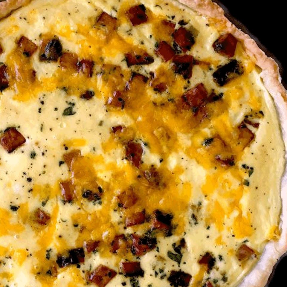 Cheddar Quiche David Kotchan