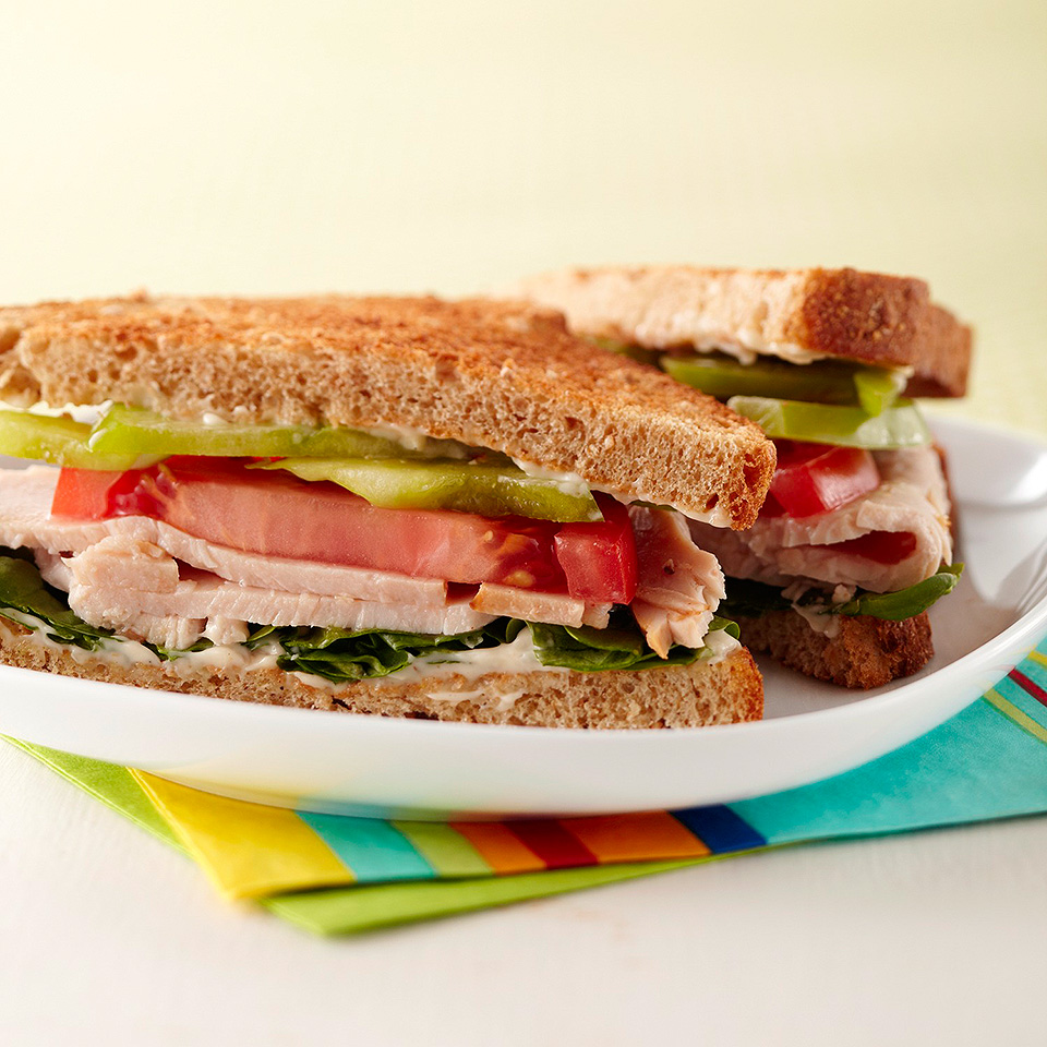 Cajun Turkey Sandwich Diabetic Living Magazine