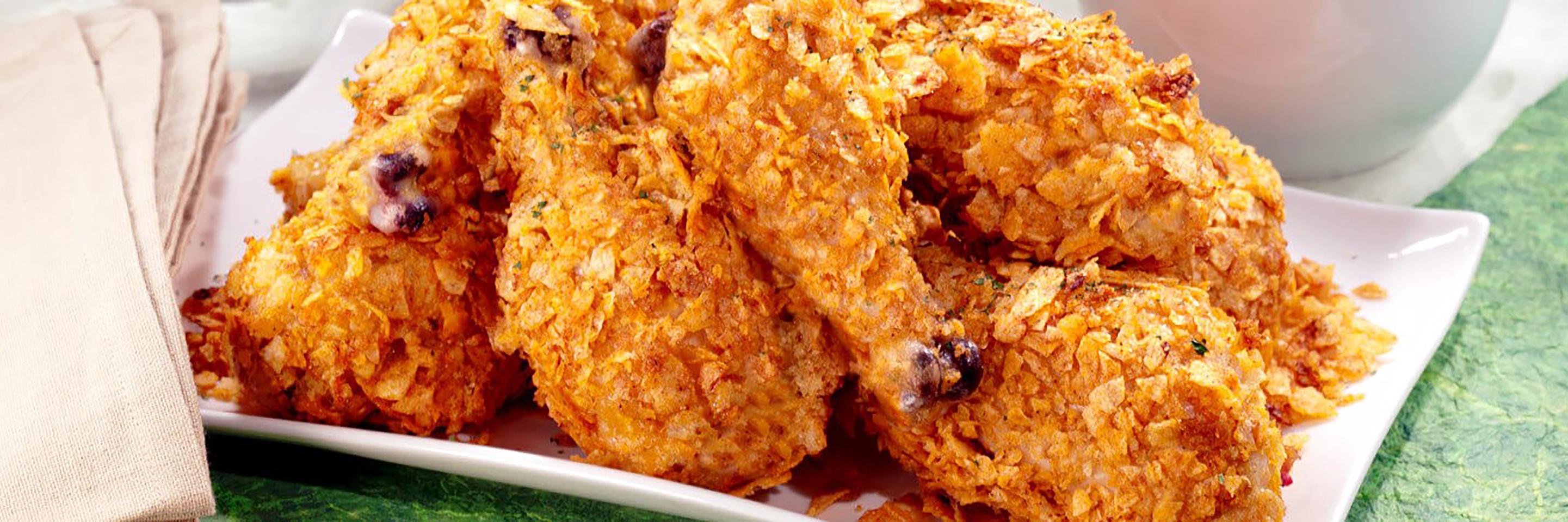 Crispy Baked Chicken Drumsticks