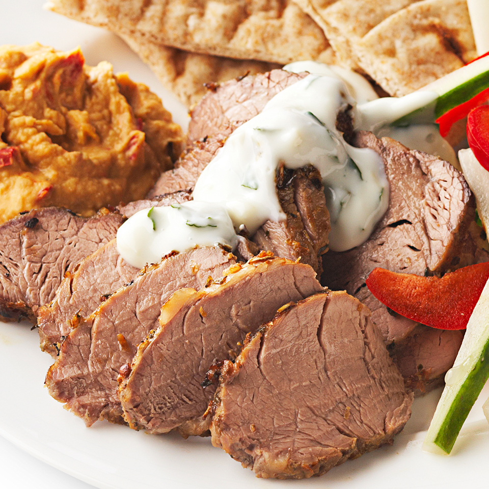 Greek Pork Tenderloin Diabetic Living Magazine