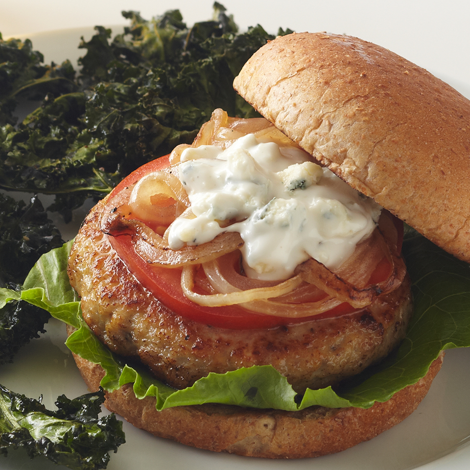 Blue Cheese Chicken Burger Diabetic Living Magazine