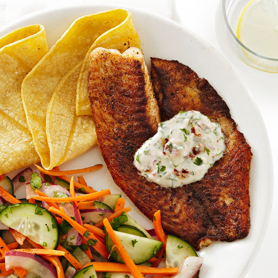 Chipotle-Cilantro Tilapia Allrecipes Trusted Brands
